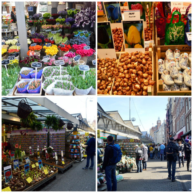 Mercado de Flores flutuante