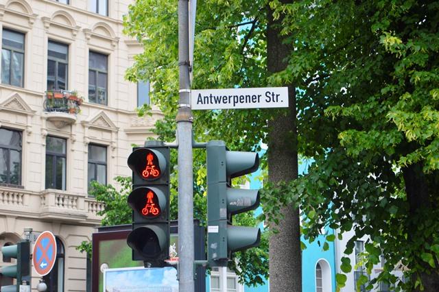 Rua Antuérpia - Bairro Belga em Colônia