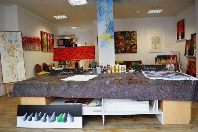Galeria de Arte no Bairro Belga em Colônia