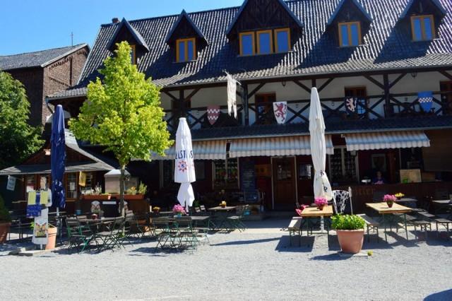 Restaurante do castelo de Burg Satzvey