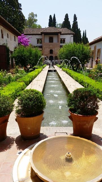 Jardim Generalife- Alhambra