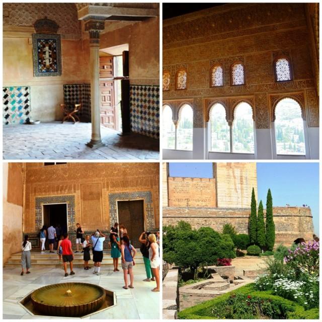 Palácios Nazaríes em Alhambra