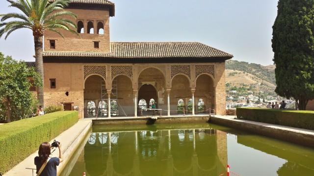 Palacio del Partal em Alhambra