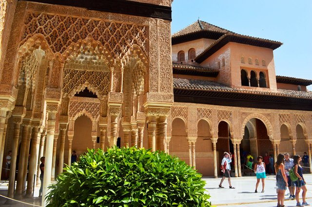 Palacio de los Leones em Alhambra