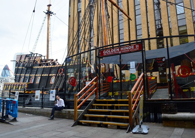 Golden Hinde II-Londres
