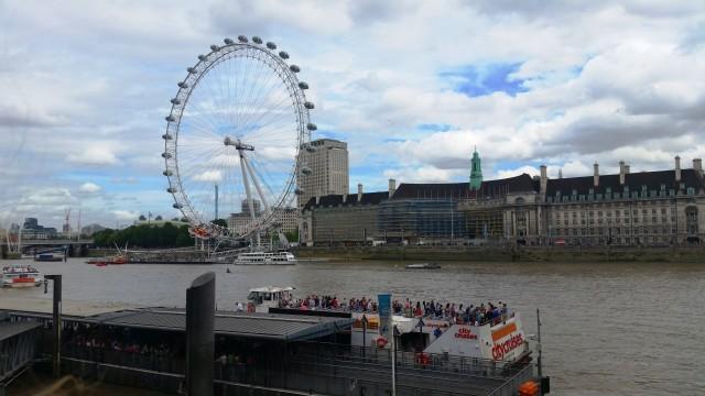 London Eye e o Sea Life