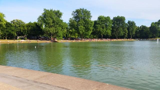 Parque Aachener Weiher em Colônia