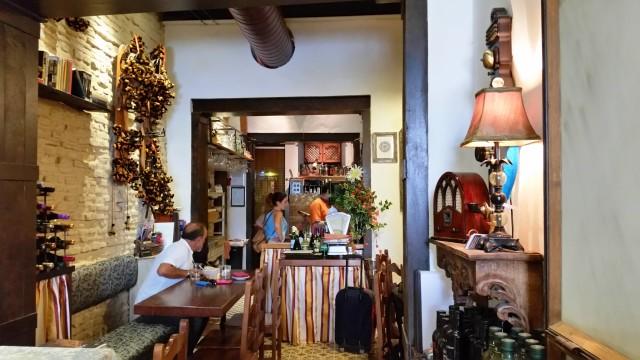 Restaurante em Sevilha
