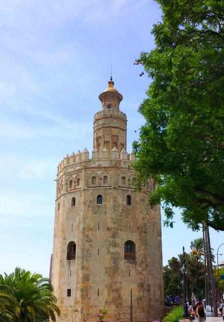 Torre del Oro-Sevilha