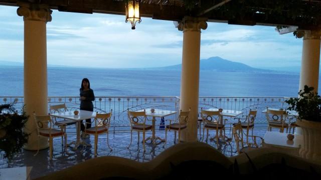 vista do Vesuvio