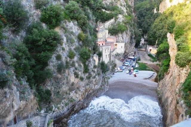 Praia na Costa Amalfitana