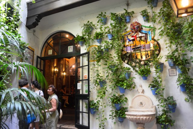 Bar El Pimpi em Málaga