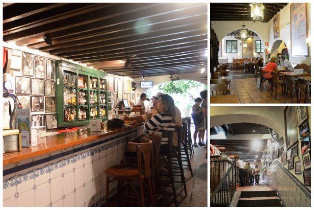 Bodega bar El Pimpi em Málaga
