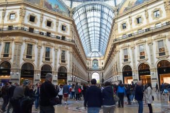 O que fazer em Milão - Galeria Vitorio Emanuele