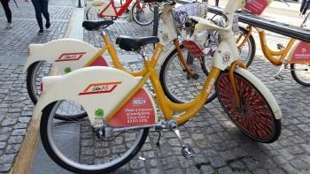 bicicleta em Milao