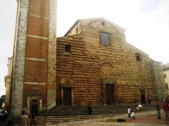 Montepulciano na Toscana