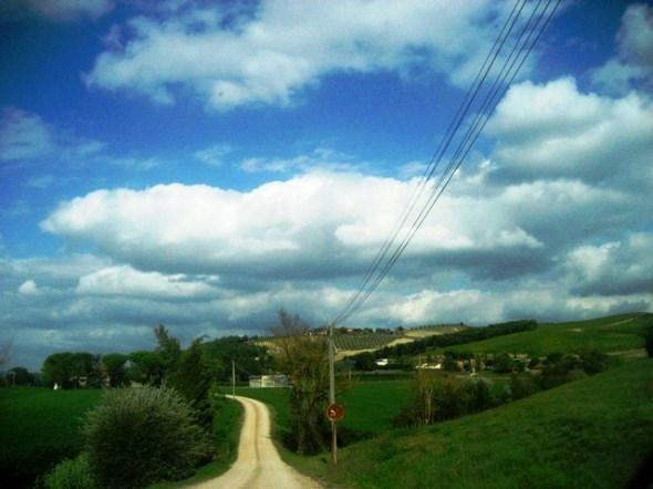 estradas da Toscana
