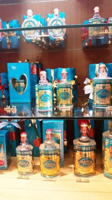 perfume água de Colonia