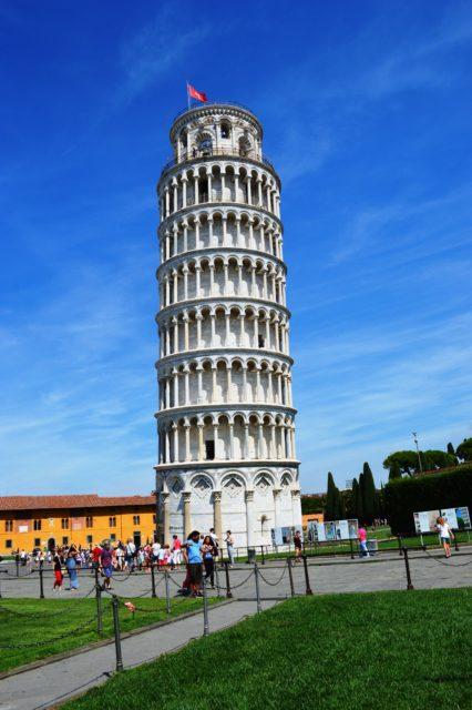 como visitar a torre de pisa