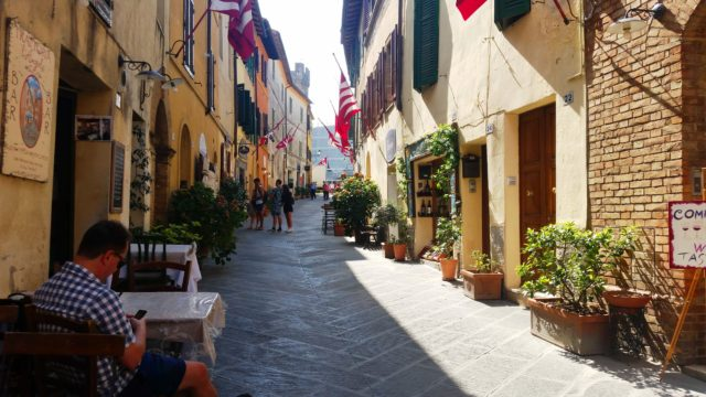 centro histórico de Montalcino