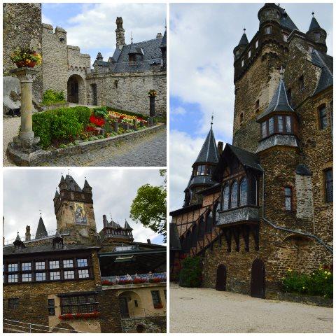 castelo de Cochem na Alemanha