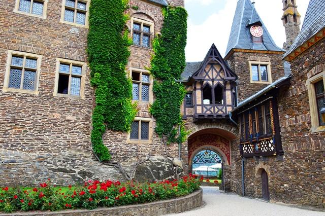 castelo Reichsburg em Cochem