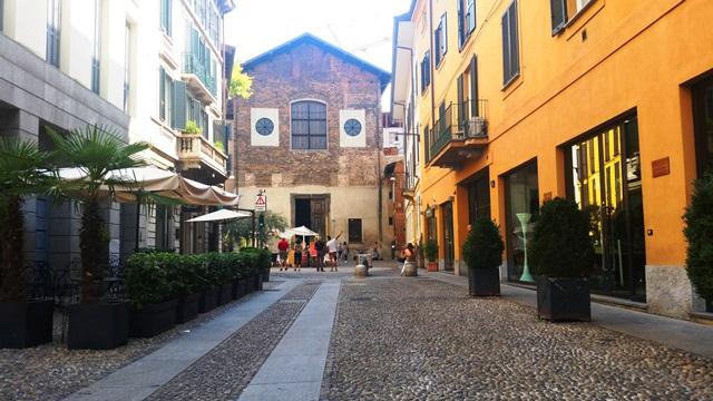 bairro de Brera em Milão