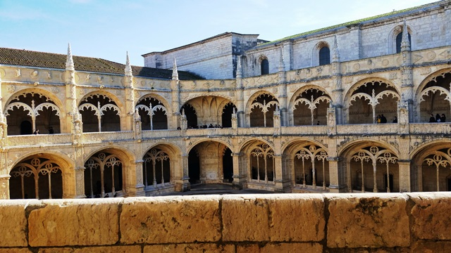 Mosteiro dos Jerônimos em Lisboa